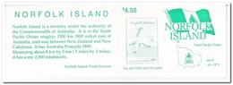 Norfolk Eiland 1996, Postfris MNH, Birds ( Booklet, Carnet ) - Norfolk Eiland