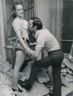 Snapshot Vintage Femme Nue érotique Nude Artistique Pose Woman Homme - Celebridades De Antaño
