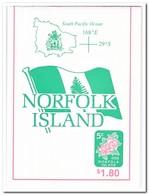Norfolk Eiland 1996, Postfris MNH, Flowers ( Booklet, Carnet ) - Norfolk Eiland