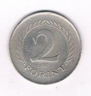 2 FORINT 1965  HONGARIJE /4815/ - Hongrie