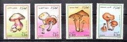 Serie De Argelia Nº Yvert 966/69 ** SETAS (MUSHROOMS) - Argelia (1962-...)