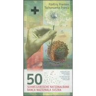 TWN - SWITZERLAND 77c - 50 Francs 2015 (2016) Prefix B - Signatures: Studer & Zurbrügg UNC - Switzerland