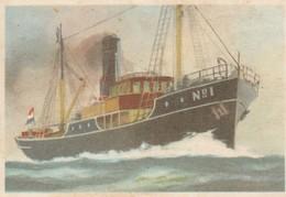 STOOMLOODS VAARTUIG, Nedrlandse Loodsboot 1900, Captain Grant Virginia Cigarettes - Cigarette Cards