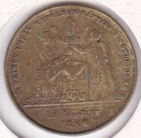 Médaille. Le Prince Imperial Napoléon Baptisé à Notre Dame Le 14 Juin 1856. - Royaux / De Noblesse