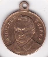 Médaille. Souvenir De Thiers, Né à Marseille En 1797, Mort à St Germain En 1877 - France
