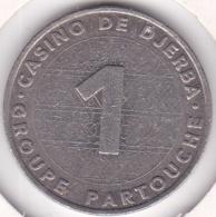 Casino De Djerba Tunisie 1 Dinar Groupe Partouche - Casino