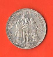 5 Francs 1874 A Paris Francia France Hercules - France