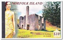 Norfolk Eiland 2001, Postfris MNH, Parfums De Pacifique, Flowers, Trees ( Booklet, Carnet ) - Norfolk Island