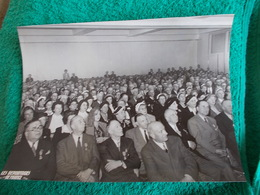 PHOTO ORIGINALE.ANCIENS COMBATTANTS.UNION DES MEDAILLES.CONGRES DE PARIS.1953 - 1939-45