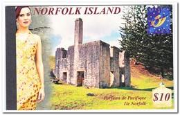 Norfolk Eiland Belgica 2001, Postfris MNH, Parfums De Pacifique, Flowers, Trees ( Booklet, Carnet ) - Norfolk Eiland