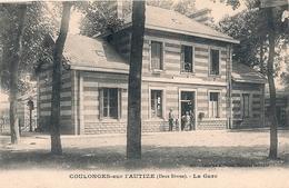 Cpa 79 Coulonges  La Gare - Coulonges-sur-l'Autize