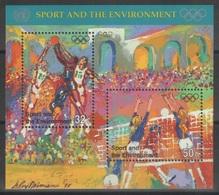 Nations Unies (New York) - Bloc Feuillet - YT 13 ** MNH - 1996 - Sport Et Environnement - Jeux Olympiques - Blocchi & Foglietti