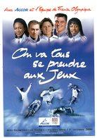 CPM    JEUX OLYMPIQUES DE SYDNEY    2000       EQUIPES DE FRANCE OLYMPIQUE     JUDO CYCLISME ESCRIME ATHLETISME - Olympische Spiele