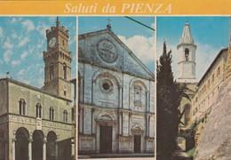 12551-SALUTI DA PIENZA(SIENA)-FG - Saluti Da.../ Gruss Aus...