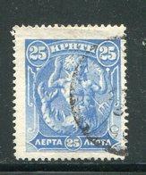 CRETE- Y&T N°28- Oblitéré - Crète