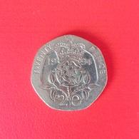 20 Pence Münze Aus Großbritannien Von 1994 (sehr Schön) - 20 Pence