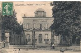 Cpa 79 Coulonges  Hotel De Ville - Coulonges-sur-l'Autize