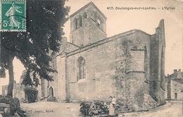 Cpa 79 Coulonges  Eglise - Coulonges-sur-l'Autize