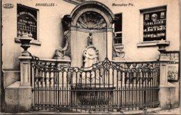 Belgium Brussells Manneken Pis 1913 - Monuments