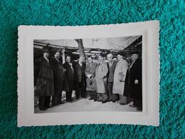 PHOTO ORIGINALE.1952.ANCIENS COMBATTANTS.UNION DES MEDAILLES.CONGRES DE ROGNAC - 1939-45