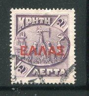 CRETE- Y&T N°77- Oblitéré - Kreta
