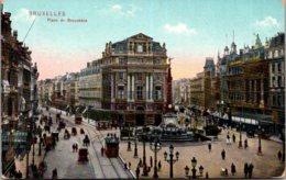 Belgium Brussells Place De Brouckere 1910 - International Institutions