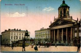 Belgium Brussells Place Royale 1925 - Squares