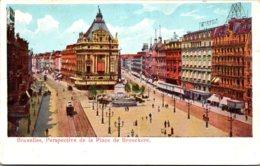 Belgium Brussells Perspective De La Place De Brouckere - Belgium