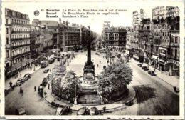 Belgium Brussells La PLace De Brouckere Vue A Vol D'Oiseau - Avenues, Boulevards