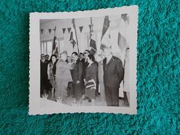 PHOTO ORIGINALE.ANCIENS COMBATTANTS.UNION DES MEDAILLES.CONGRES DE MANOSQUE - 1939-45