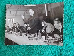 PHOTO ORIGINALE.ANCIENS COMBATTANTS.UNION DES MEDAILLES.CACHET LEGION ETRANGERE. - 1939-45