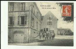70 - Haute Saone - Magny Les Jussey - Ecole Des Garçons Et Mairie - Enfants En Récréation - - Autres Communes