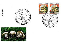 ITALIA - 1983 CESENA (BO) V Mostra Micologica (funghi) - Funghi