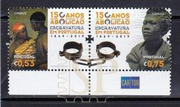 Portugal 2019 150 Anos Abolição Escravatura Esclavitud Slavery L'esclavage Sklaverei Human Rights Droits L'homme Cartor - 1910-... République