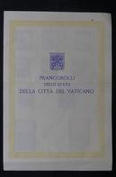 VATICAN - Livret Souvenir De La Cité Du Vatican En 1944 , à Voir - L 32649 - Covers & Documents