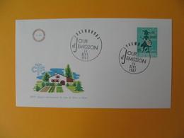 FDC Luxembourg   1967   XVI  Congrès International De L'Office Du Coin De Terre Et Foyer    N° 707 - FDC
