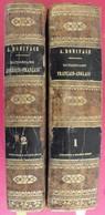 Dictionnaire Français-anglais Et Anglais-français (2 Tomes). Chambaud Boyer Boniface. Belin-mandar Paris 1843 - Livres, BD, Revues