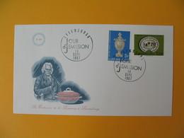 FDC Luxembourg   1967  Bicentenaire De La Faïence     N° 704 Et 705 - FDC