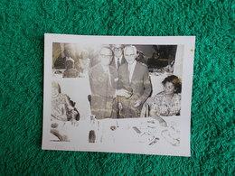 PHOTO ORIGINALE.1969.ANCIENS COMBATTANTS.UNION DES MEDAILLES.REMISE A M. ROUQUETTE - 1939-45