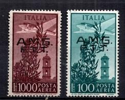 Trieste Zone A Poste Aérienne YT N° 13 Et N° 16 Neufs *. B/TB. A Saisir! - Luftpost