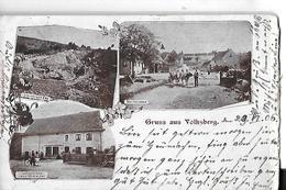 GRUSS AUS VOLKSBERG  3 VUES       2 Choix  Cote Droit  Hauteur   DEPT 67 - Autres Communes
