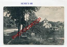 SEMUY-CARTE Allemande-GUERRE 14-18-1WK-France-08- - Autres Communes