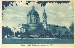 "4330 ""TORINO-REALE BASILICA DI SUPERGA (m.672)""CART. POST. ORIG..NON SPEDITA - Churches"