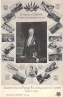 EVENEMENTS Politique (09/1913) Voyage Touristique Du Président R. POINCARE Dans Le Centre De La France - CPA Multivues - Eventi