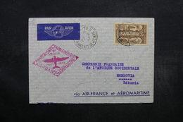 FRANCE - Enveloppe 1er Vol  France / Cote Occidentale D 'Afrique En 1937 Pour Morovia - L 32657 - Marcophilie (Lettres)