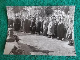 PHOTO ORIGINALE.1960.ANCIENS COMBATTANTS.UNION DES MEDAILLES.SAINT PIERRE CARRE DU SOUVENIR.MARSEILLE. - 1939-45