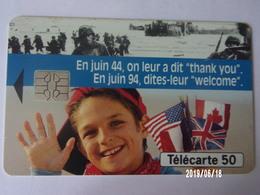 "F463A Débarquement ""Welcome"" 50U S05 - Armée"