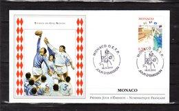 """"""" RUGBY / TOURNOI DES CINQ NATIONS """" Sur Enveloppe 1er Jour De MONACO De 2010. N° YT 2719. FDC - Rugby"""