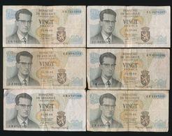 6 X 20 Frank    2 Scans - 50 Francs