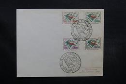 ALGÉRIE - Enveloppe FDC En 1963 , Gloire à La Révolution - L 32662 - Argelia (1962-...)